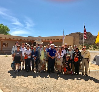 Group shot at Acoma - Bridget St. Clair