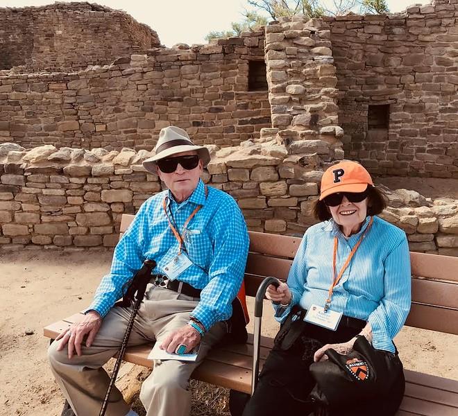 Harry and Kathy enjoying the Southwest - Livia McCarthy