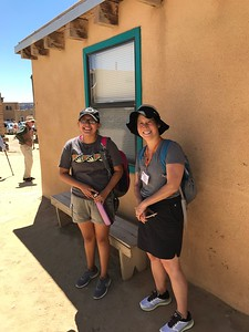 Finding the shade at Acoma - Bridget St. Clair