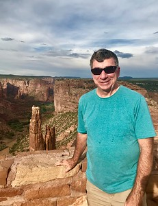 Brad at Canyon de Chelly - Livia McCarthy