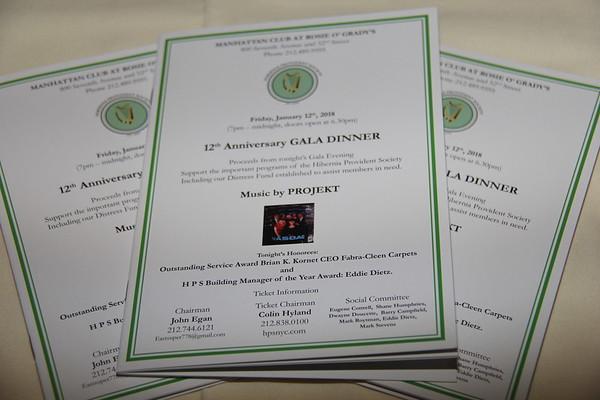 The Hibernian Provident Society's 12th Anniversary Gala