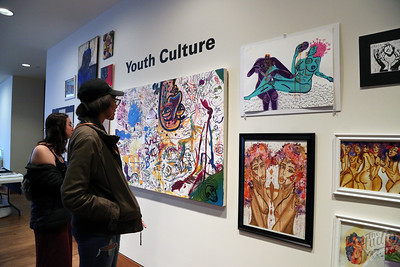 "The Studio, UW-Madison's Creative Arts Community, presented ""Youth Culture.,"" an evening of visual art, music performance, and more!"