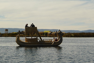 Most reed boats are now used for tourists.