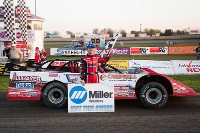 Miller Welders Fast Time Award winner Bobby Pierce