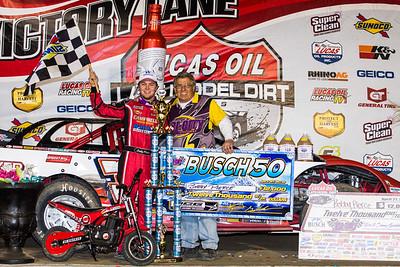 Bobby Pierce and track owner Kevin Gundaker