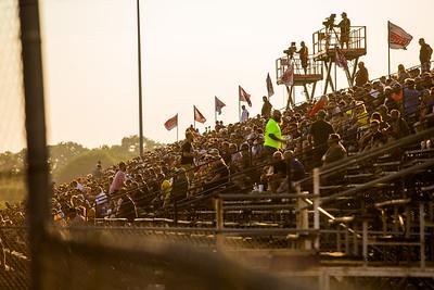 Tri-City Speedway grandstands