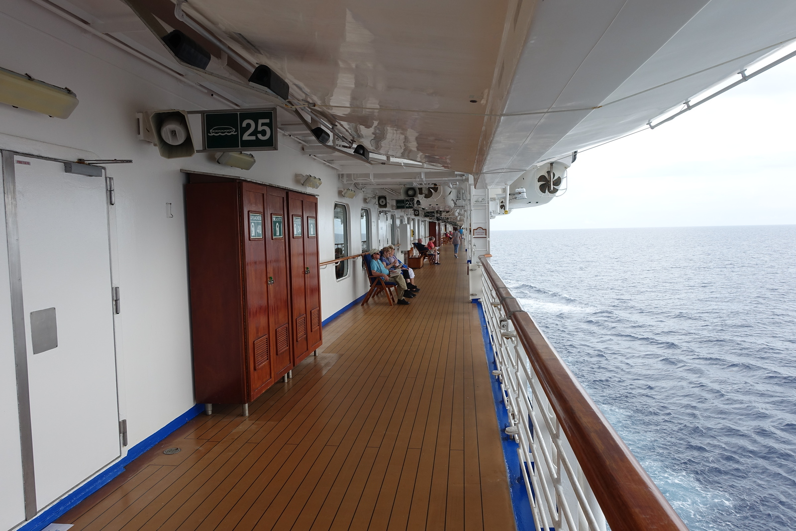 Princess Panama Cruise – Deck 7 Walking Track