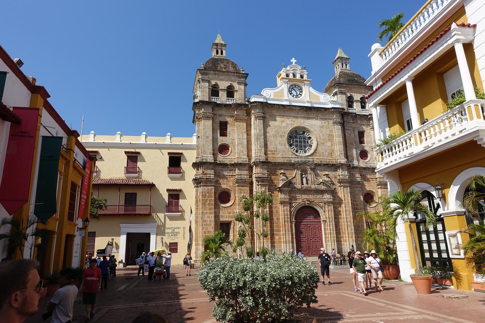 Iglesia de San Pedro Claver – Cartagena, Colombia