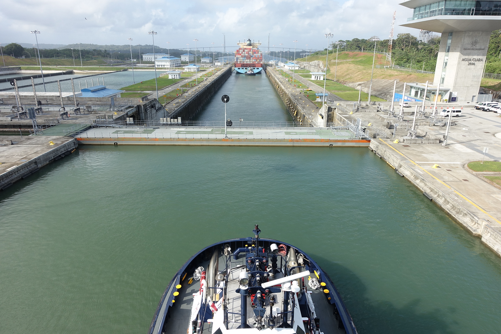 Return Visit Back Through Panama Canal (3 Locks)