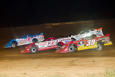 Brandon Sheppard (1), Bobby Pierce (32), Jonathan Davenport (49) and Tim McCreadie (39)
