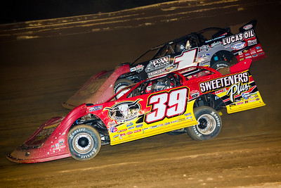 Tim McCreadie (39) and Earl Pearson, Jr. (1)