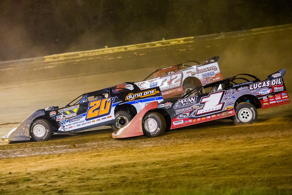 Ricky Thornton, Jr. (20RT), Bobby Pierce (32) and Earl Pearson, Jr. (1)