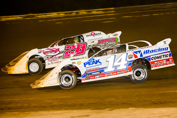 Darrell Lanigan (14) and Tyler Carpenter (28)