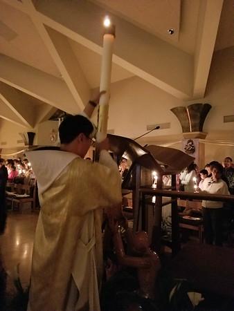 03-31-18 Easter Vigil and Eucharist