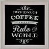 Coffee art in ur Montevideo apartment