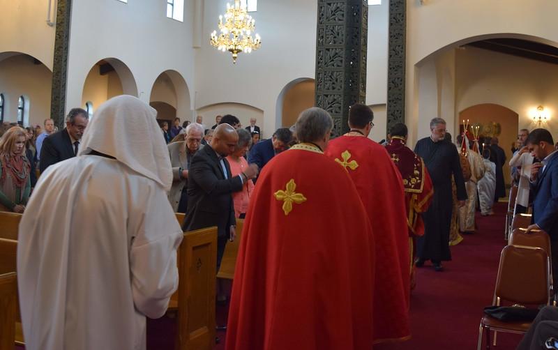 Vasilis Vallas Ordination to the Diaconate