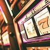 Lucky Slot Machine in Casino