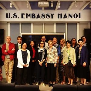 Embassy Visit, Hanoi