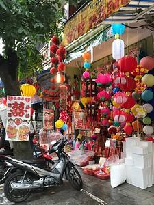 Lanterns in Hanoi
