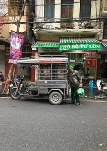 Tuk Tuk in Hanoi