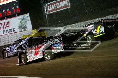 Scott Bloomquist (0), Dale McDowell (17M) and Brent Larson (B1)