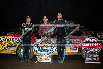 Josh Richards (L), Tim McCreadie (C) and Chase Junghans (R)