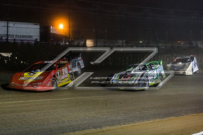 Tim McCreadie (39), Josh Richards (1), Chase Junghans (18) and Jonathan Davenport (49)