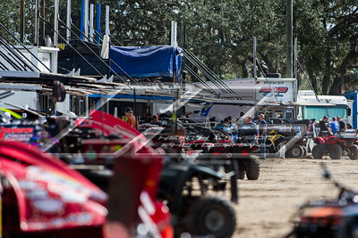 Volusia Speedway Park pit area