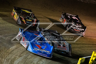 Brandon Sheppard (1), Joey Coulter (2C), Michael Norris (72) and Dale McDowell (17M)