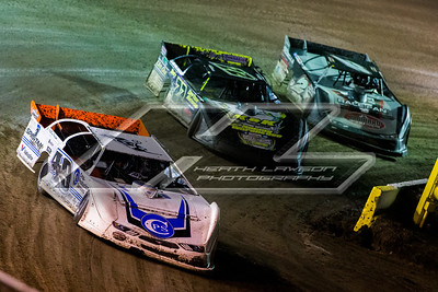 Jonathan Davenport (49), Chris Ferguson (22) and Joey Coulter (2C)