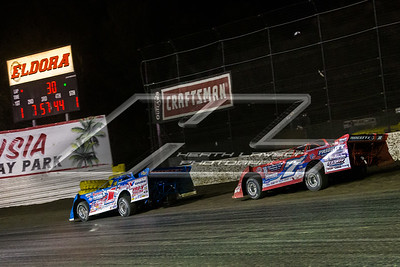 Brandon Sheppard (1) and Rick Eckert (7E)