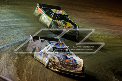 Chub Frank (1*) and Shane Clanton (25)