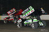 DIRTcar Nationals - Arctic Cat All Star Circuit of Champions - Volusia Speedway Park - 15 Donny Schatz, 10H Chad Kemenah