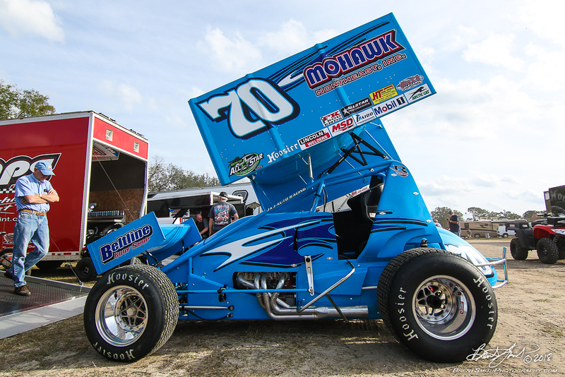 DIRTcar Nationals - Arctic Cat All Star Circuit of Champions - Volusia Speedway Park - 70 Dave Blaney