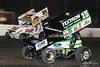 DIRTcar Nationals - Arctic Cat All Star Circuit of Champions - Volusia Speedway Park - 15 Donny Schatz, 21B Brian Brown