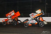 DIRTcar Nationals - Arctic Cat All Star Circuit of Champions - Volusia Speedway Park - 49X Tim Shaffer, 18 Ian Madsen