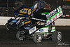 DIRTcar Nationals - Arctic Cat All Star Circuit of Champions - Volusia Speedway Park - 15 Donny Schatz, 49 Brad Sweet