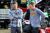 DIRTcar Nationals - Arctic Cat All Star Circuit of Champions - Volusia Speedway Park - Kerry Madsen & Ian Madsen