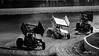DIRTcar Nationals - Arctic Cat All Star Circuit of Champions - Volusia Speedway Park - 13 Paul McMahan, 1K Kyle Larson, 5 David Gravel