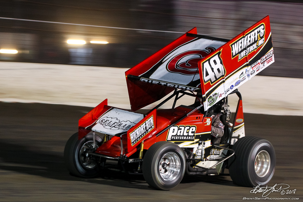 DIRTcar Nationals - Arctic Cat All Star Circuit of Champions - Volusia Speedway Park - 48 Danny Dietrich