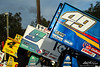 DIRTcar Nationals - World of Outlaws Craftsman Sprint Car Series - Volusia Speedway Park - Kasey Kahne Racing