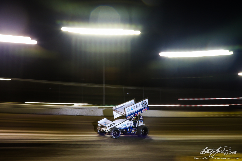 DIRTcar Nationals - World of Outlaws Craftsman Sprint Car Series - Volusia Speedway Park - 2 Shane Stewart