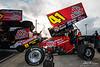DIRTcar Nationals - World of Outlaws Craftsman Sprint Car Series - Volusia Speedway Park - 41 Jason Johnson