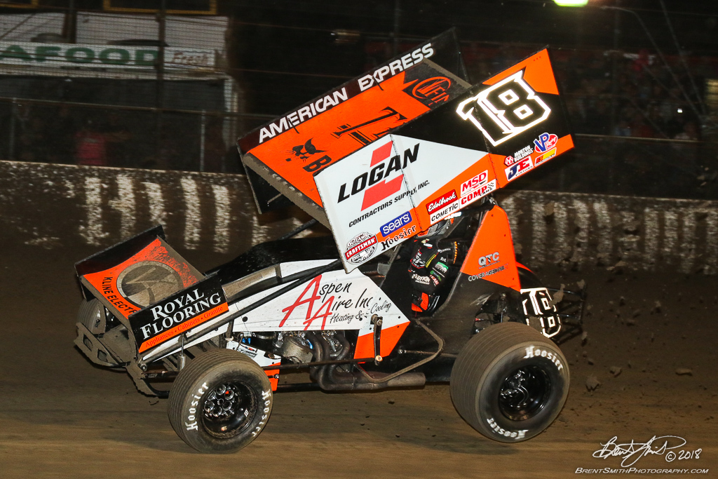 DIRTcar Nationals - World of Outlaws Craftsman Sprint Car Series - Volusia Speedway Park - 18 Ian Madsen
