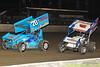 DIRTcar Nationals - World of Outlaws Craftsman Sprint Car Series - Volusia Speedway Park - 70 Dave Blaney, 7S Jason Sides