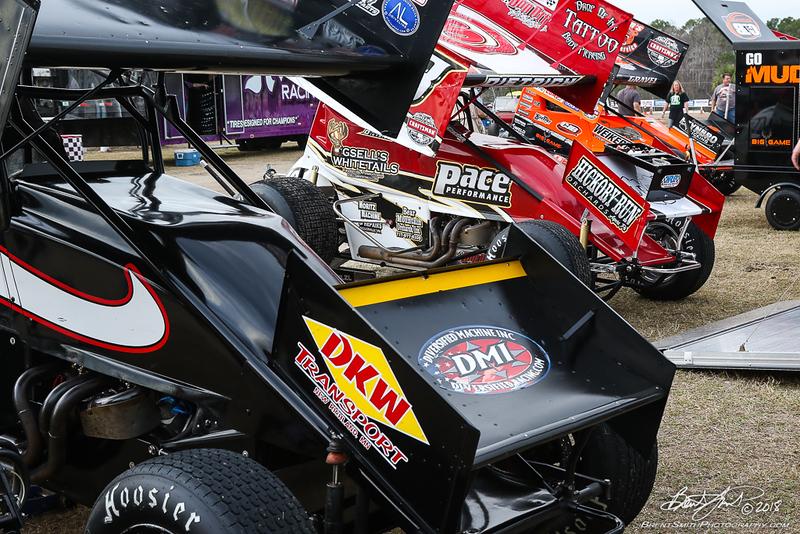 DIRTcar Nationals - World of Outlaws Craftsman Sprint Car Series - Volusia Speedway Park
