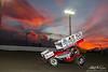 DIRTcar Nationals - World of Outlaws Craftsman Sprint Car Series - Volusia Speedway Park - W20 Greg Wilson