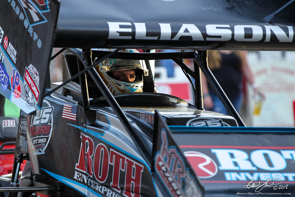 DIRTcar Nationals - World of Outlaws Craftsman Sprint Car Series - Volusia Speedway Park - 83 Cory Eliason