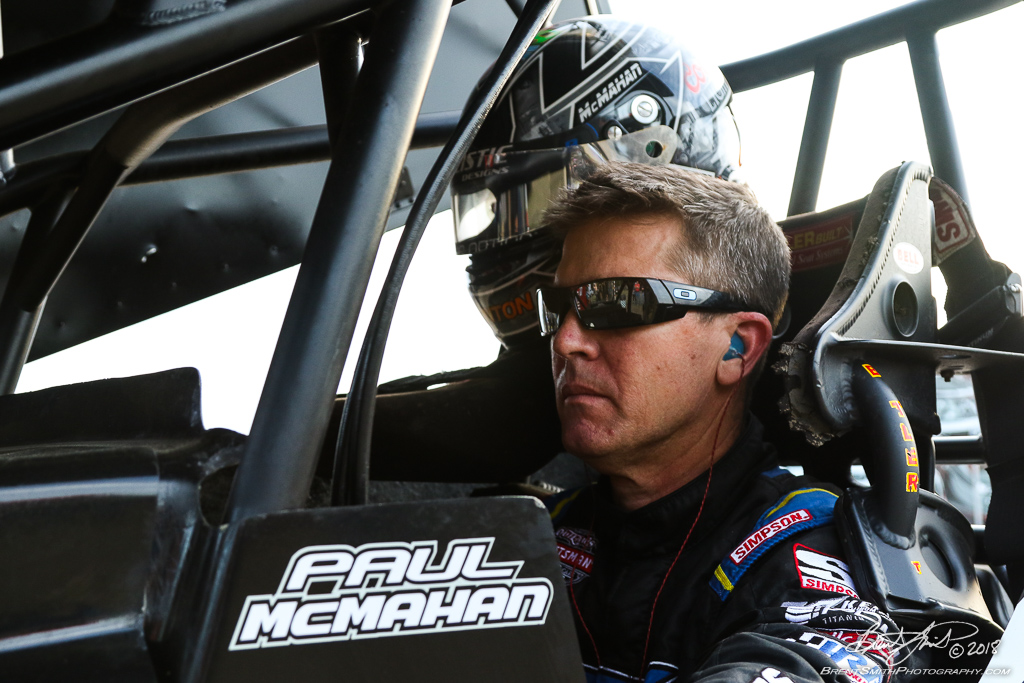 DIRTcar Nationals - World of Outlaws Craftsman Sprint Car Series - Volusia Speedway Park - 13X Paul McMahan