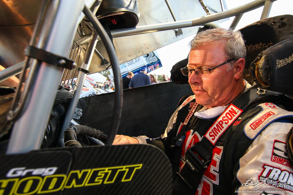 DIRTcar Nationals - World of Outlaws Craftsman Sprint Car Series - Volusia Speedway Park - 27 Greg Hodnett